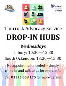 advocacy-drop-in-hubs-poster